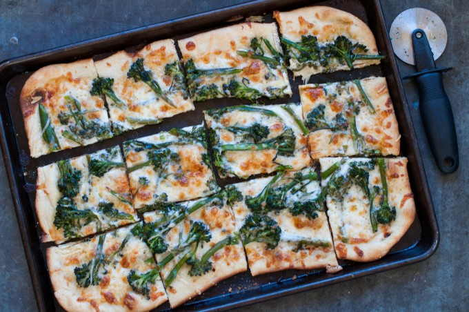 Broccoli Rabe Pizza img