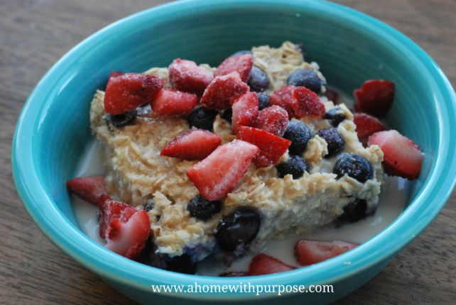 Blueberry Oatmeal 1