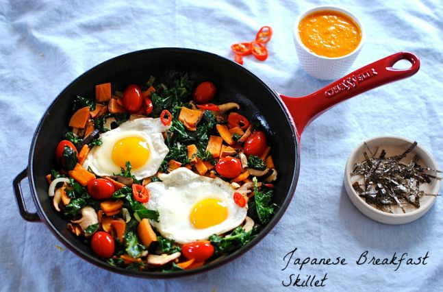 Japanese Breakfast Skillet 1