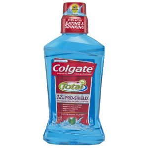 colgate total mouth rinse